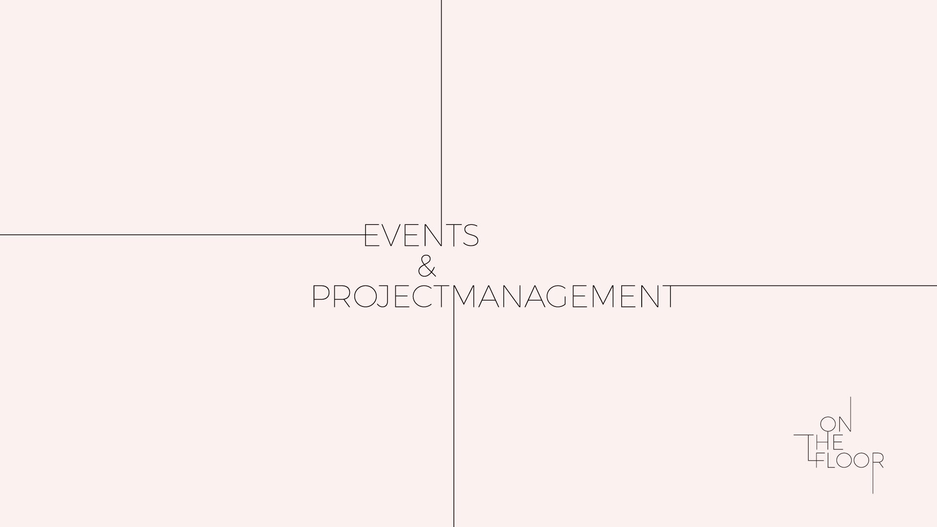 Events & Projectmanagement